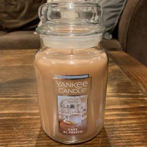 Yankee Candle 22oz Cafe Al Fresco